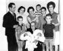 Angeleta Ballonga amb néts i besnéts